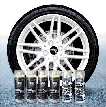 Sophisticauto Full Dip Packs Ahorro Llantas 6 Sprays Blanco Brillo