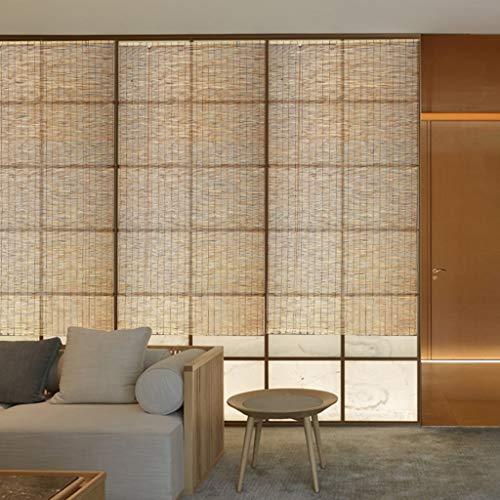 Bambusjalousien Lamellenrollos Trennwände Verdunkelung Feuchtigkeitsbeständig Innen- / Außendekoration Vorhanghalterung Anpassung