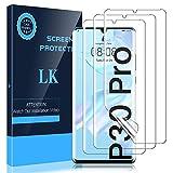 LK 3 Stück Schutzfolie kompatibel mit Huawei P30 Pro Folie, Weich TPU Bildschirmschutzfolie mit Vollständige Abdeckung, Ultra-HD, Hüllenfre&lich, Blasenfrei