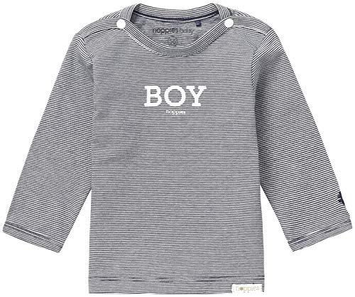 Noppies Baby Jungen B Tee Newman Langarmshirt, Navy, 74 EU