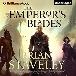 The Emperor's Blades     Chronicle of the Unhewn Throne, Book 1              De :                                                                                                                                 Brian Staveley                               Lu par :                                                                                                                                 Simon Vance                      Durée : 19 h et 16 min     4 notations     Global 4,8