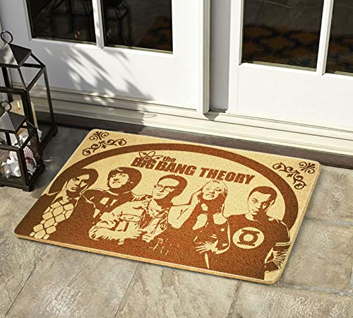 StarlingShop Big Bang Theory - Felpudo para puerta con diseño de Big Bang Theory