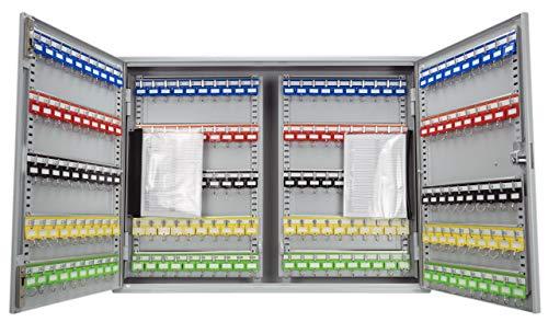 BARSKA CB13604 Keypad 400 Position Adjustable Key Cabinet Lock Box Gray