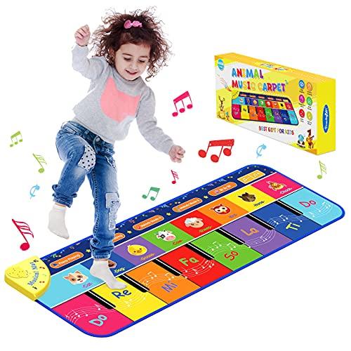 Let's Arezooo Juguetes Bebes 1 Año, Regalo Navidad Niño Piano Infantil Regalo Niña 2 3 4 5 Años Juegos Educativos Niños 2 Años Alfombra Infantil Juguetes Niños 2 3 4 5 Años