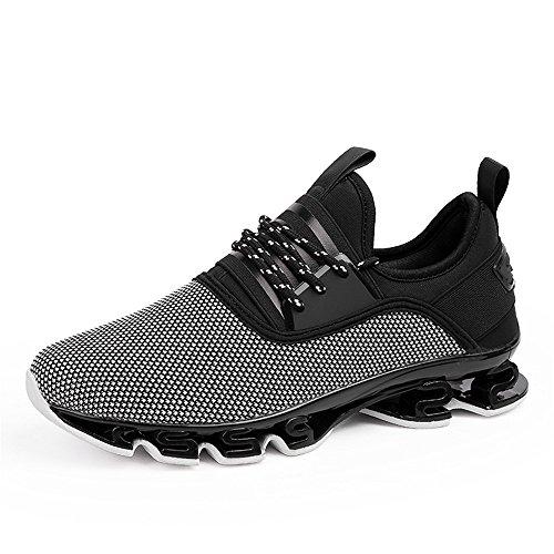 Zapatillas deportivas para hombre, para correr, gimnasio, suaves, transpirables, atléticas, informales., color, talla 43 1/3 EU