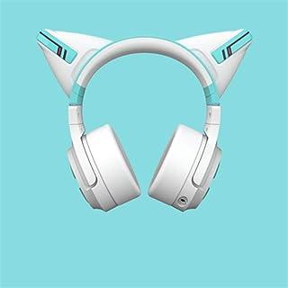 LVYI 初音ミクBluetoothヘッドセット2元猫耳ヘッドホンヘッドマウント猫耳ヘッドホン