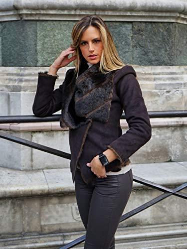 Florence Marlen FM1S Nápoles | Diseñado en Italia | 2 Correas |Smartwatch Hombre-Mujer Malla Milanesa Negra |Reloj… 5