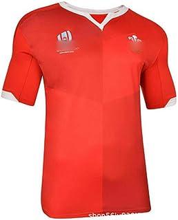 ラグビーワールドカップジャージ、ウェールズラグビーウェア2019 w杯のホームアンドアウェーのユニフォーム、s-5xl、ラグビー服,当日の出荷
