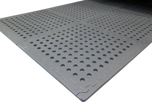 Mauk Flexible Bodensystem Schutzmatten Bodenschutzmatte, grau, XL