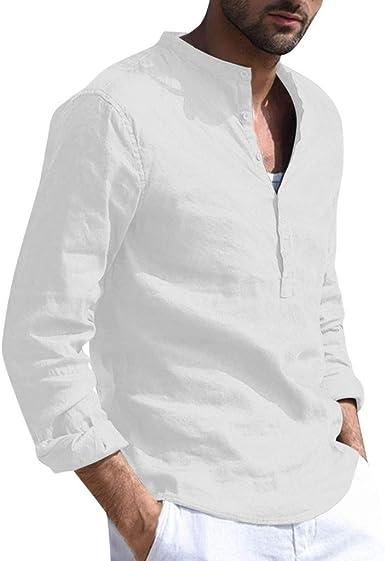 Moda Camisa Manga Corto Hombre,Camiseta Tops Hombres Blusa ...