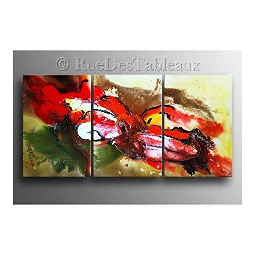 ruedestableaux - Tableaux abstraits - tableaux peinture - tableaux déco - tableaux sur toile - tableau moderne - tableaux salon - tableaux triptyques - décoration murale - tableaux deco - tableau design - tableaux moderne - tableaux contemporain - tableaux pas cher - tableaux xxl - tableau abstrait - tableaux colorés - tableau peinture - Clown dilué