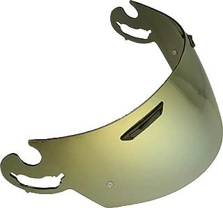 visera ARAI no original compatible ARAI-RX7-RR5-RX7-GP-QUANTUM-ST-CHASER-V-REBEL-AXCESS-ORO GOLD DORADA AFTERMARKET