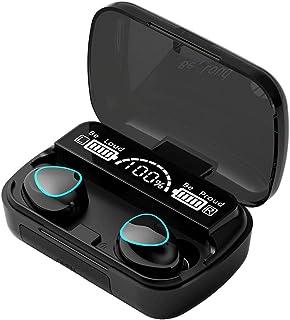 ACEHE Écouteurs, écouteurs sans Fil 5.1 écouteurs Intra-Auriculaires Mini Touch LED Display Casque étanche Casque M10A sté...