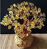 ABCBCA Crystal árbol del Dinero Bonsai Estilo Riqueza Suerte Feng Shui traen Riqueza Suerte decoración del hogar del Regalo de cumpleaños decoración de la Boda del Acuario