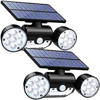 2-Pack Cinoton Solar Motion Sensor Light