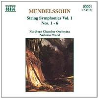 Mendelssohn: String Symphonies Vol. 1, Nos. 1 - 6 (1996-01-23)