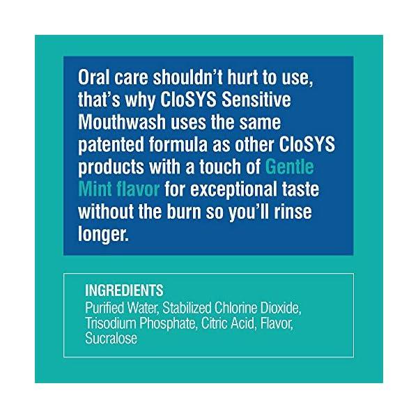 CloSYS Sensitive Antimicrobial Mouthwash 32 Oz