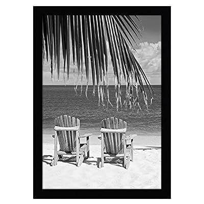 Americanflat Poster Frame   Shatter-Resistant Glass. Hanging Hardware Included!