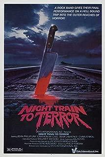 Night Train to Terror Poster Movie B 27 x 40 Inches - 69cm x 102cm Barbara Wyler Jamie Scoggin Stacey Lyons Linda Maderas Melanie Montilla Chantel Morogeus Byron Yordan