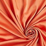 Fabulous Fabrics Chiffon orange, Uni, 145cm breit –