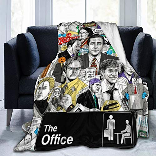 Dunder Mifflin Micro Fleece Blanket