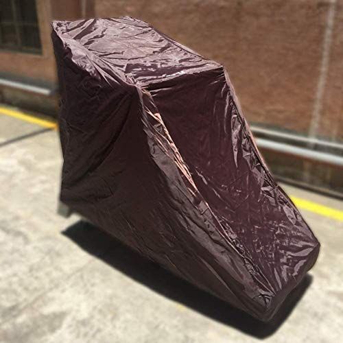 Laufbandabdeckung, Sportlaufmaschine Schutzklappabdeckung für Außenwetter Regen- und Sonnenscheinbeständigkeit 78,74 '' x 37,40 '' x 59,06 '',Braun