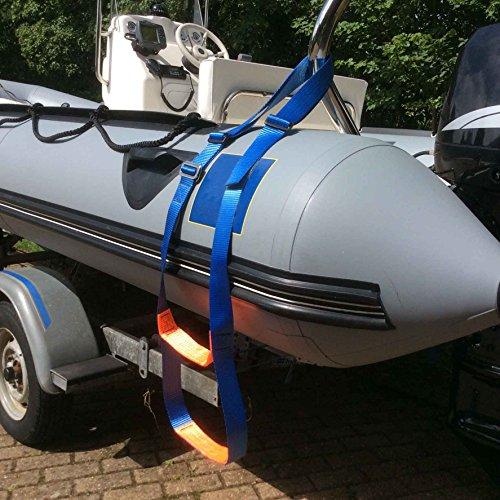 Rib Aufblasbare Boots-Leiter