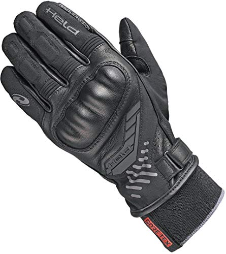 Held Leather Gloves Madoc [Gore-Tex] Black 9