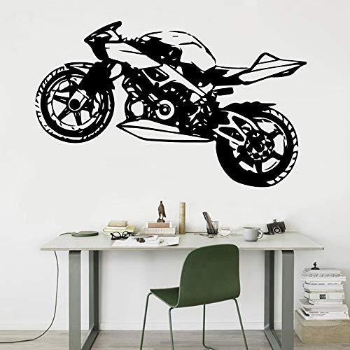 Etiqueta engomada creativa de la motocicleta calcomanía de vinilo extraíble etiqueta calcomanía de la motocicleta etiqueta de fondo A8 43X70CM