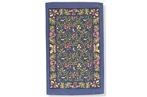 Ulster Weavers Birds & Iris Blue Cotton Tea Towel, Multi