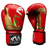 FitTrek Boxhandschuhe - Kinder Frauen Boxing Handschuhe - MMA, Muay Thai, Kickboxen, Sparring, Kampfsport Handschuhe - Boxing Gloves für Mädchen Männer Damen Herren