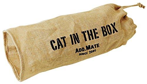 アドメイト 猫用おもちゃ キャットインザボックス 麻通り抜けトンネル S サイズ