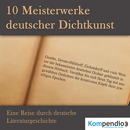 10 Meisterwerke deutscher Dichtkunst audiobook cover art