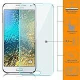zanasta Bildschirmschutz Folie kompatibel mit Samsung Galaxy E5 Bildschirmschutzfolie aus gehärtetem Glas Schutzglas Glasfolie Schutzfolie | Klar Transparent