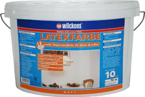 Wilckens Latexfarbe matt, 10 L, weiß 13490100110