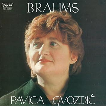 Pavica Gvozdić - Brahms