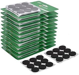 eDealMax Espuma Inicio auto adhesivo Para sillas de muebles Patas de fieltro Protector Pads 22mm 324