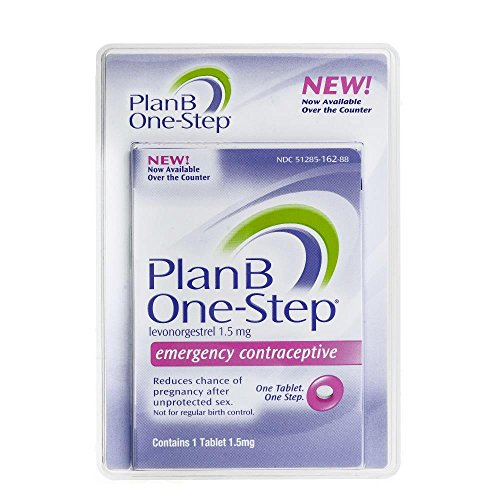 Plan B Emergency Contraceptive Tablet (Contains 1 Tablet 1.5mg)