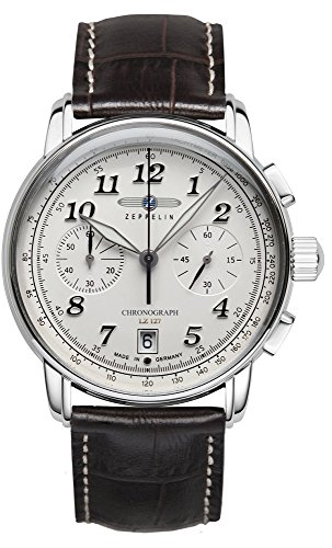 Zeppelin LZ127 Chrono 8674-1 - Reloj para hombre (acero inoxidable)