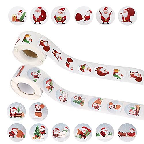 Etiquetas Adhesivas Navidad Regalo Marca TSLBW