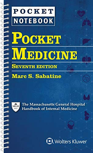 Compare Textbook Prices for Pocket Medicine: The Massachusetts General Hospital Handbook of Internal Medicine 7 Edition ISBN 9781975142377 by Sabatine MD, Dr. Marc S
