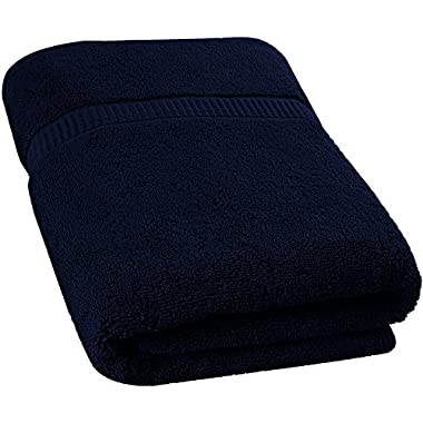 Utopia Towels Soft Cotton Machine Washable Extra Large Bath Towel (35-Inch-by-70-Inch) - Luxury Bath Sheet - Navy