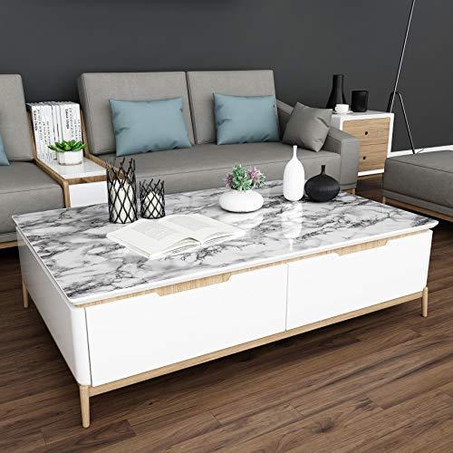 大理石柄の壁紙は、テーブルやキッチンカウンターなどのリメイクに人気です。防水性や耐熱性に優れた物も多く、天板に貼るだけで高級感がぐっとUPします。