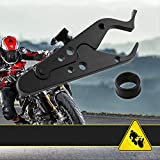 Sporacingrts Motorcycle Cruise Control Throttle Clamp- Universal Wrist/Hand Grip Lock Clamp Compatible with Throttle Assist