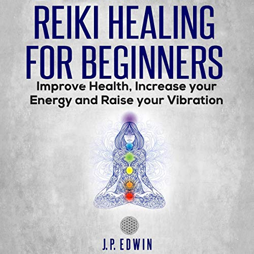 Reiki Healing for Beginners audiobook cover art