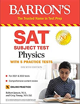 SAT Subject Test Physics  With Online Tests  Barron s Test Prep