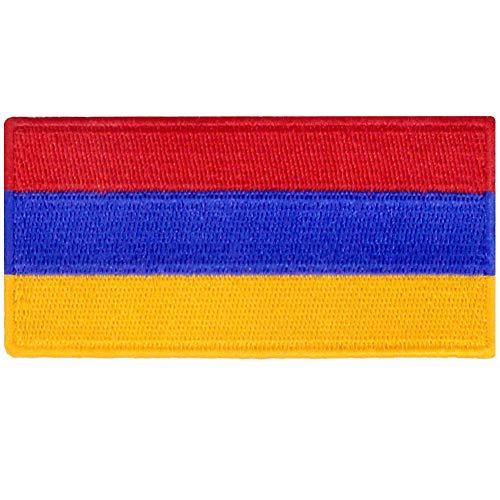 Bandera de Armenia Armenio Emblema nacional Parche Bordado de Aplicacin con Plancha
