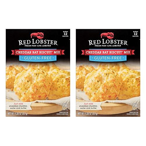 Red Lobster Biscuit Mix 11.36 oz (Gluten-Free Cheddar Bay Biscuit)