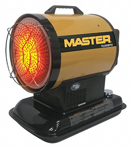 Save %15 Now! Master MH-70-SS-A Radiant Kerosene Heater, 70,000 BTU