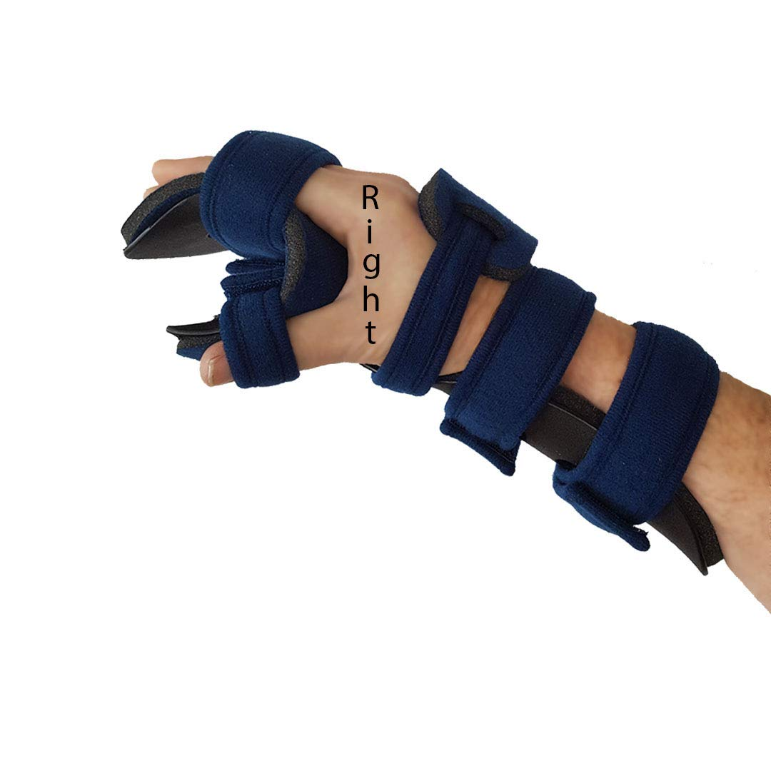 Stroke Hand Brace Resting Splint Max 67% OFF HAND RIGHT Small Corre Time sale